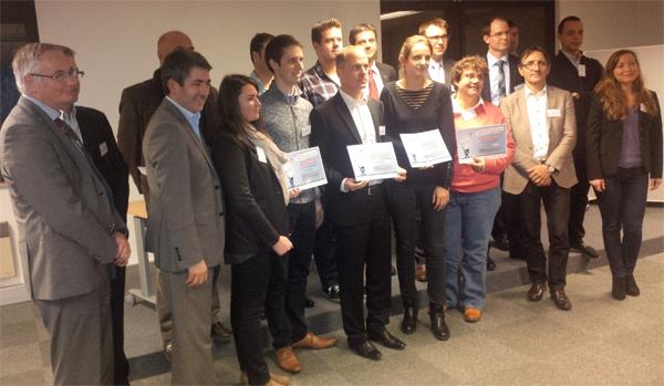 Cérémonie de remise des Trophées de l'Innovation - m2a 2014