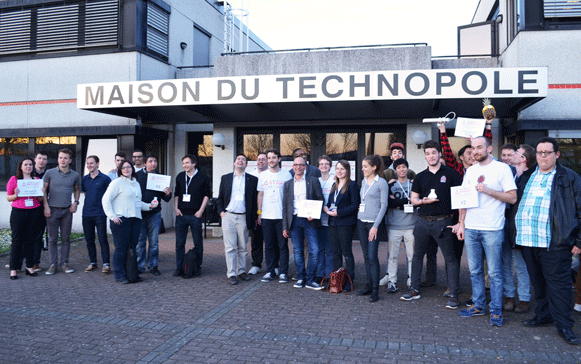 Lauréats 2015 Startup Weekend Mulhouse