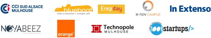 Sponsors du Startup Weekend Mulhouse 2015