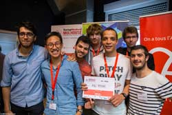 Startup Weekend Mulhouse 2017 - AdMove -1er Prix / Prix Orange