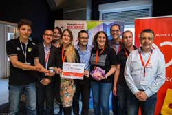 Startup Weekend Mulhouse 2017 - E-Bu Connect - Prix spécial Fondation Partenariale Haute Alsace