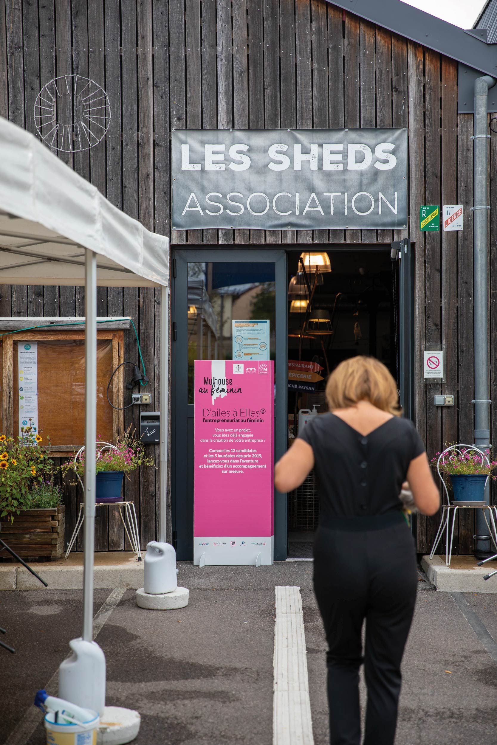 Les Sheds